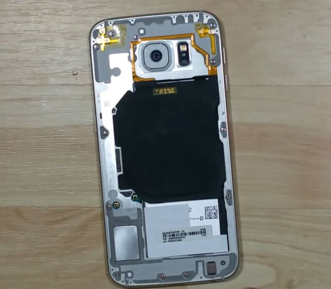 how to open galaxy s6