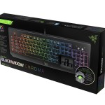 The Razer Blackwidow Chroma Gaming Keyboard