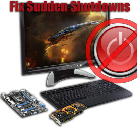 PC shuts down without warning