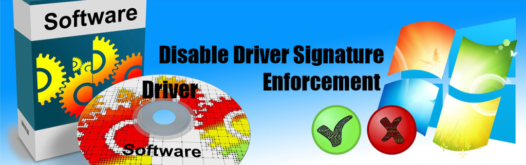 disable driver signature enforcement