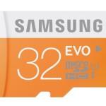 Samsung 32GB EVO Class 10 MicroSD for $9