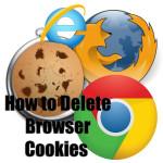 How to delete cookies?