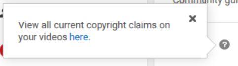 youtube copyright strikes