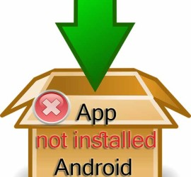 Application not installed Android