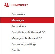youtube inbox