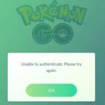 Pokemon Go login problems fix