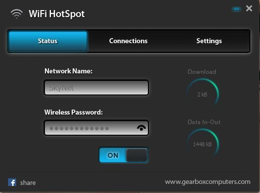 Create a WiFI Hotspot for free with Desktop or Laptop easily