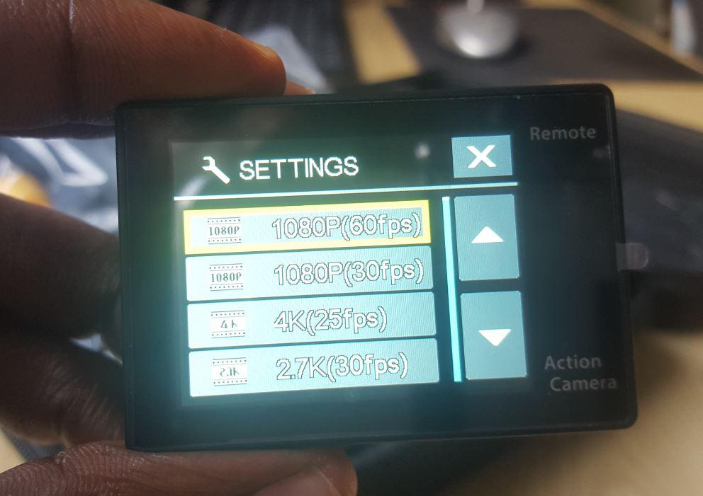 Vikeepro 4K Waterproof Sports Camera