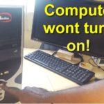 Computer Wont turn on Fix
