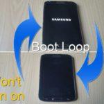 Fix Samsung bootloop, Stuck on Samsung logo or phone wont power on