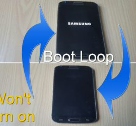 Samsung bootloop