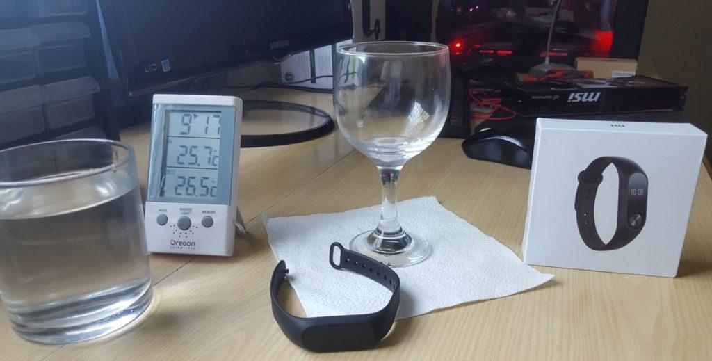 Xiaomi Mi Band 2 waterproof test