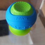 HMDX HX-P120BL HoMedics Neutron Wireless Suction Speaker Review