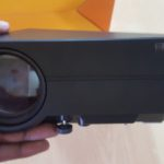 GooDee 130 inch Portable LED Home Theater Projector