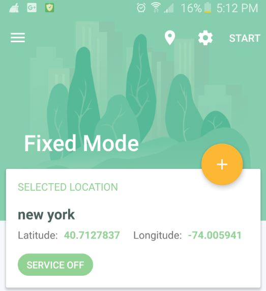 How to change or Fake your location on Android