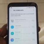 How to Make any app full screen on the Galaxy S8 or S8 Plus?