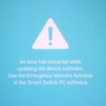 An Error Has Occurred While Updating The Device Software Fix