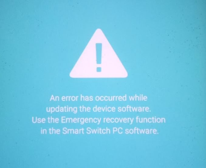 emergency recovery function smart switch pc software