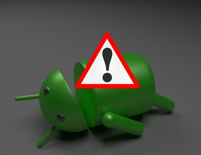 Fix The Dead Android and Red Triangle Error Symbol on