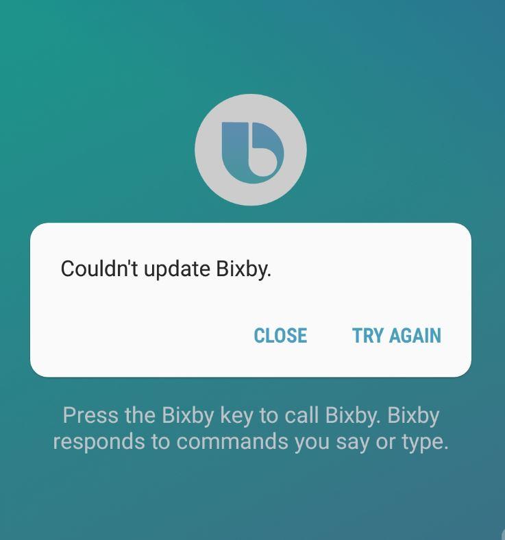 BIXBY Not Starting or Working
