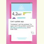 Instagram update problem Fix-can't update app