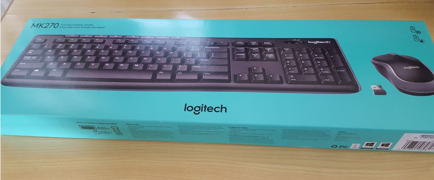 Logitech MK270 Wireless Keyboard and Mouse Combo Review - BlogTechTips 74bd935d0dbf9
