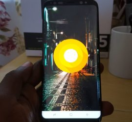 Galaxy S8 Android 8.0 Oreo official update