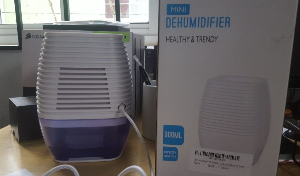 ETTG Compact Mini Dehumidifier