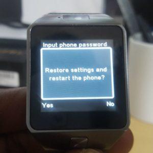 How to Hard Reset a U8 Smartwatch - BlogTechTips