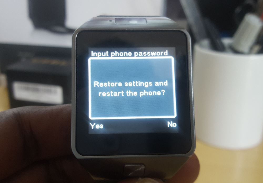 How To Factory Reset Or Restore Factory Settings To The Dz09