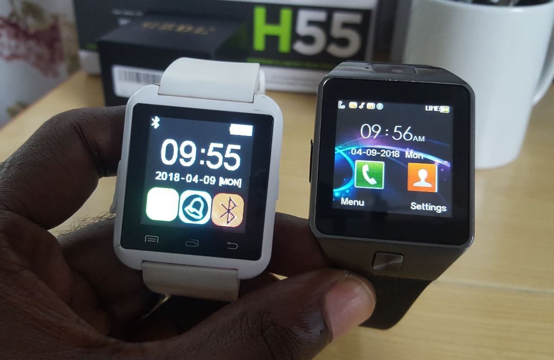 DZ09 VS U8 Smartwatch - BlogTechTips