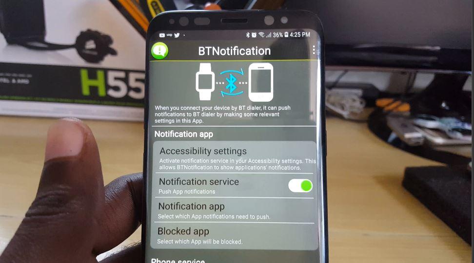 Updated BT Notifier download