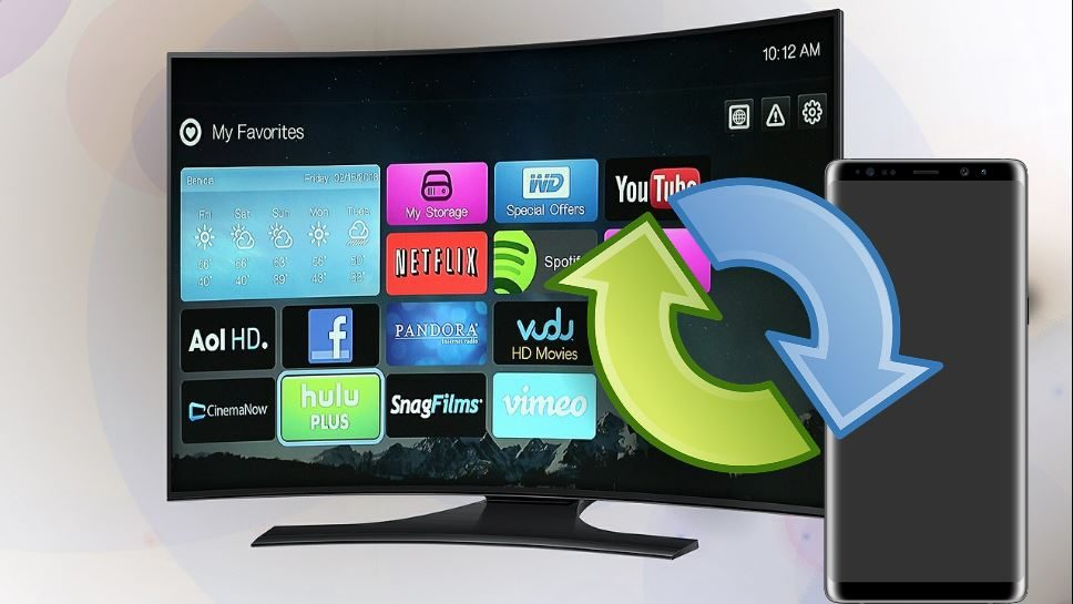 How to Screen Mirror to Smart TV Galaxy S8 and S9 - BlogTechTips