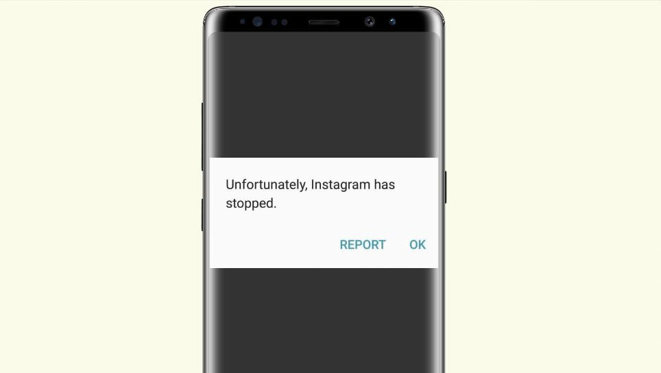 Unfortunately Instagram has stopped working Fix on Android