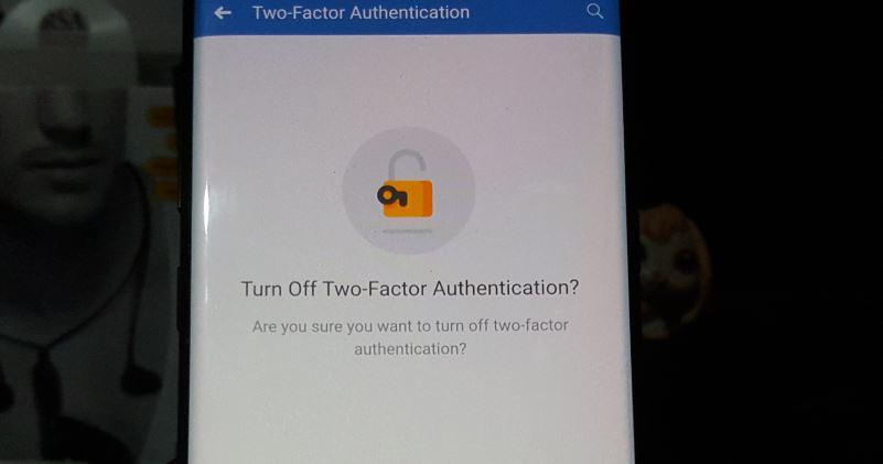 enable or disable Two factor authentication on Facebook
