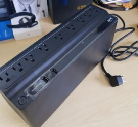 APC 850VA UPS Battery Backup & Surge Protector