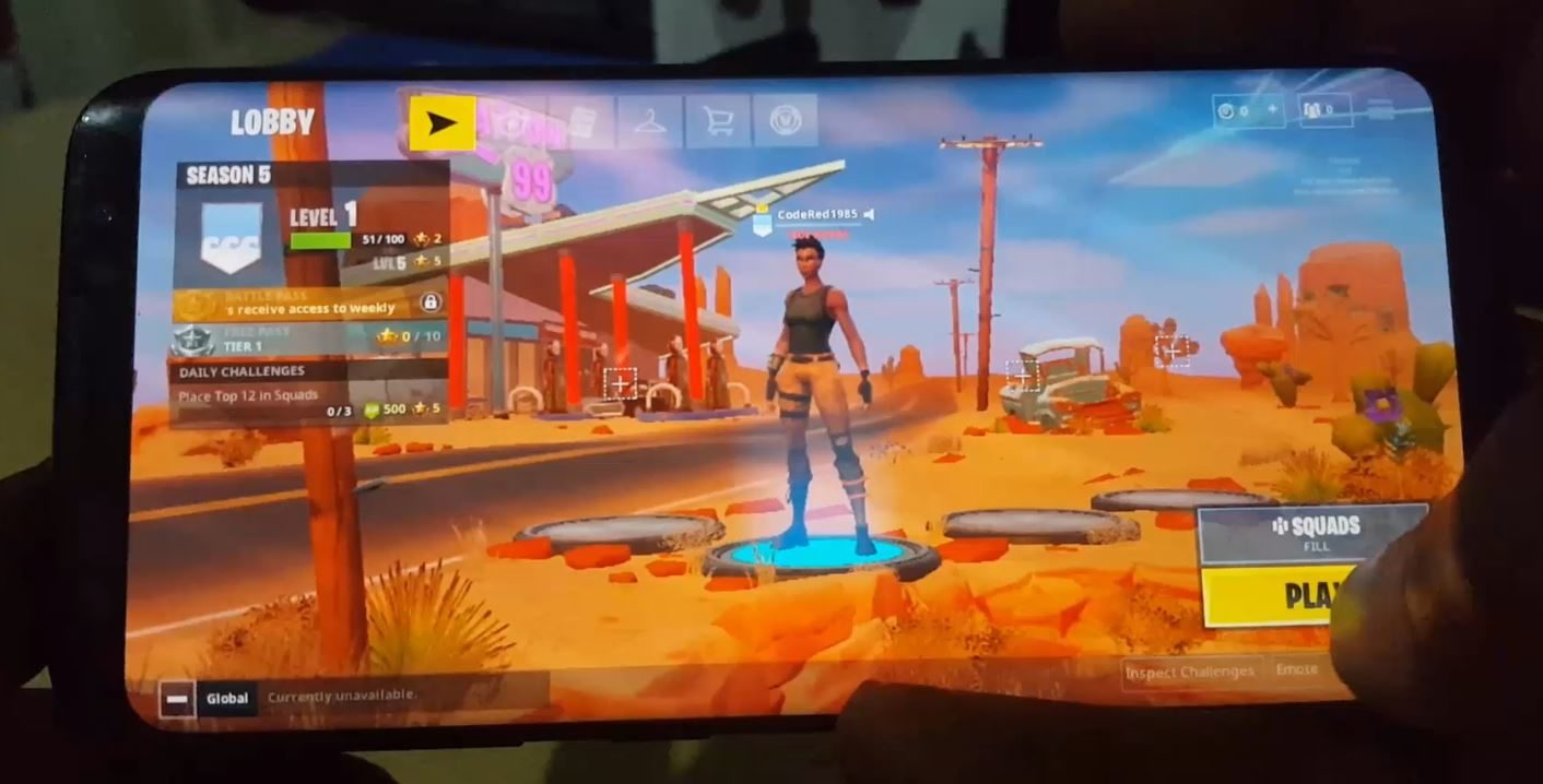 How to Unlock Galaxy Skin in Fortnite on Galaxy Note 9 or