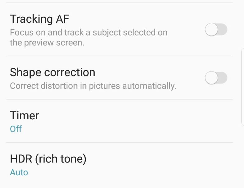 How to enable HDR or Rich tone on the Galaxy S9
