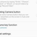 Reset Camera settings on Galaxy S9,S8:Two methods