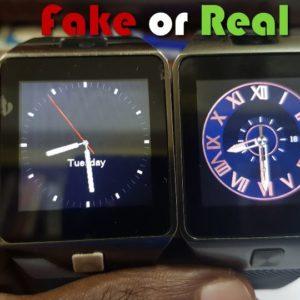 How To Change Wallpaper Of DZ09 Smartwatch - BlogTechTips