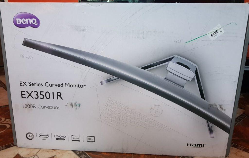 BenQ EX3501R Ultrawide Curved Monitor