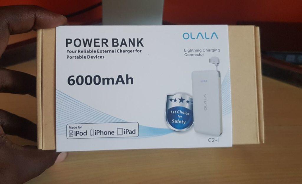 OLALA C2-i 6000 mAh Power Bank