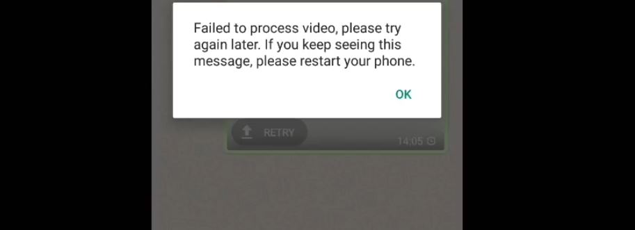 How to Fix Whatsapp Video or Images not Sending Problem