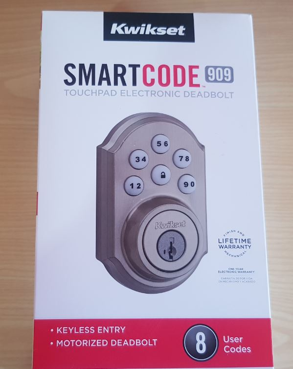 kwikset smartcode 909 Electronic Deadbolt