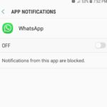 Not receiving Whatsapp Notifications Problem Fix