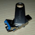 Tecnugiz 32GB USB C 3 in 1 Flash Drive