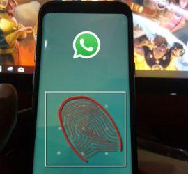 How to Fingerprint Lock Whatsapp