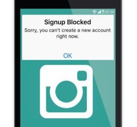 Fix Instagram Signup Blocked