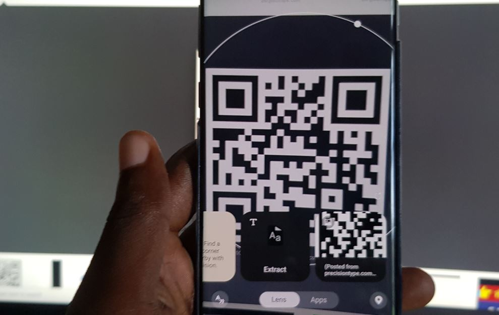 Galaxy S10 Scan QR Code with Built in QR Scanner