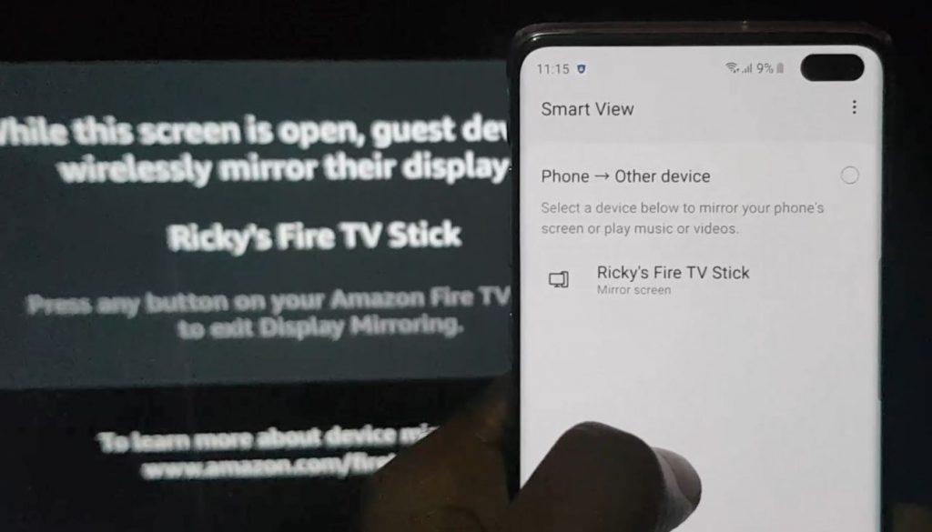 Amazon Fire TV Stick Screen Mirroring